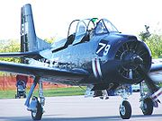 Airplane Pictures - Canadian civil T-28C in US Navy markings in 2004