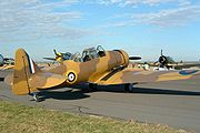 Airplane Pictures - T-6 Texan in RAF desert camouflage colour scheme