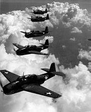 Airplane Pictures - US Navy TBF Grumman Avenger flight, similar to Flight 19. This photo had been used by various Triangle authors to illustrate Flight 19 itself