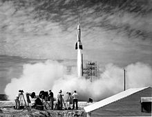 US test launch of a Bumper V-2