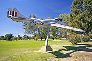 Warbird picture - de Havilland Vampire A79-612 in Wagga Wagga, New South Wales, Australia