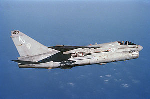 Airplane Picture - U.S. Navy A-7E from Attack Squadron 46 (VA-46)