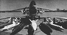 Airplane Picture - Weapons loadout of an F-8 Crusader