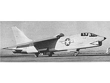 Airplane Picture - F8U-1 Crusader BuNo 141435 and Commander