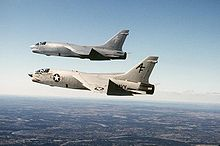 Airplane Picture - A section of VFP-206 RF-8 Photo Crusaders in late 1986 when they were last F-8 Crusaders in U.S. Naval service