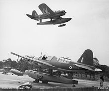 Warbird Picture - Two Australian Kingfisher aircraft in 1942
