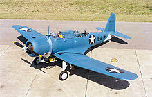 Airplane Picture - An SB2U-2 of VB-9 from the National Museum of Naval Aviation