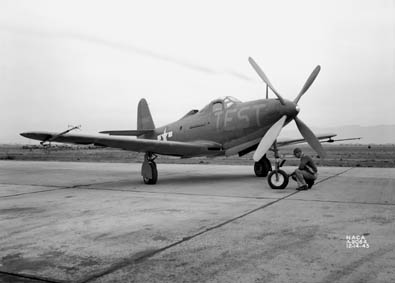 Airplane Pictures - Living Warbirds: Bell P-63 Kingcobra
