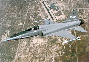 Airplane picture - Airplane Pictures - Living Warbirds: Northrop F-20 Tigershark