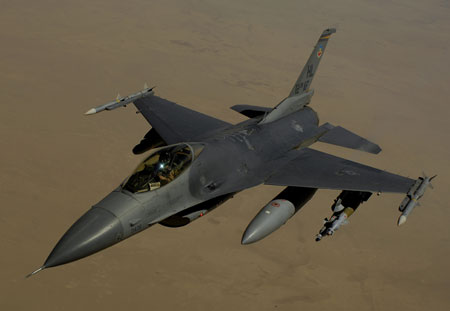 Airplane Pictures - Living Warbirds: Lockheed Martin F-16 Fighting Falcon