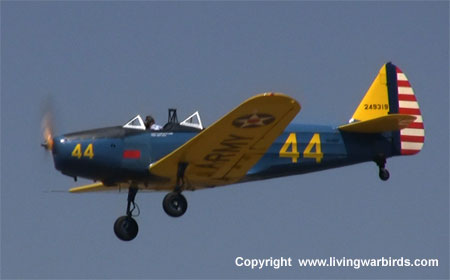 Airplane Pictures - Living Warbirds: Fairchild PT-19A