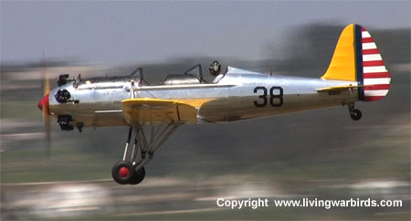 Airplane Pictures - Ryan PT-22 Recruit, Living Warbirds, free warbird videos, world war ii, vintage airplanes, download living warbirds dvd