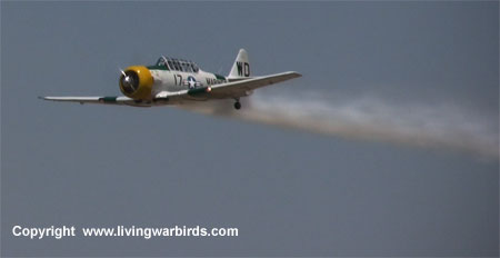 Airplane Pictures - Living Warbirds, Warbird videos, vintage airplanes - North American Aviation SNJ-5 - War Dog