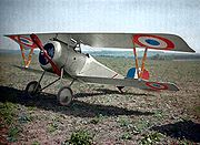 French Nieuport 17 C.1 fighter, 1917
