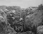For most of World War I, Allied forces were stalled at trenches on the Western Front