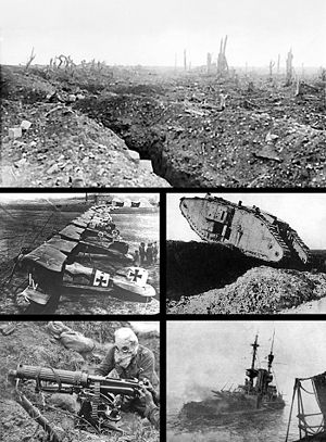 World War One Trenches Pictures