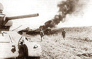 Airplane Pictures - A Soviet tank during the Battle of Kursk.