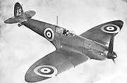 Airplane Pictures - The RAF Supermarine Spitfire, used extensively during the Battle of Britain.