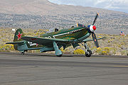 Airplane Pictures - Modern built Yak-9M as Yak-9U
