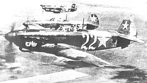 Airplane Pictures - Yak-9D of the Soviet Air Force